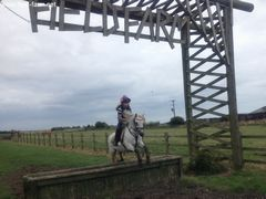 Photo - Libby and Peter Pan jump Field Farm